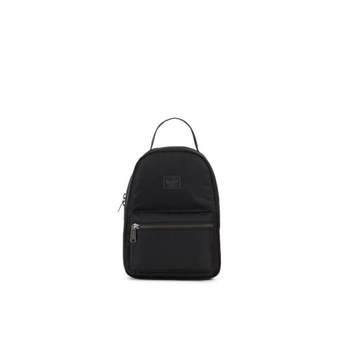 MOCHILA HERSCHEL NOVA MINI NEGRA FLIGHT SATIN