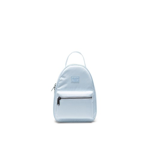 MOCHILA HERSCHEL NOVA MINI FLIGHT SATIN AZUL PASTEL