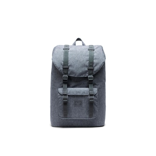MOCHILA HERSCHEL LITTLE AMERICA MID-VOLUME RAVEN CROSSHATCH LIGHT