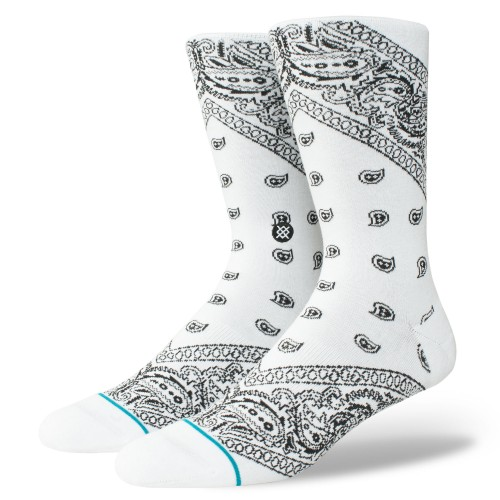 STANCE BARRIO 2 WHITE